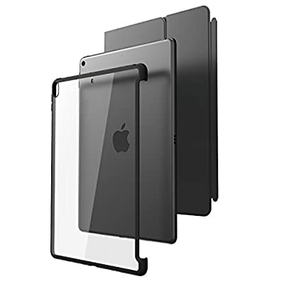 All New iPad Pro 10.5 Case, i-Blason [Compatible with Official Smart Cover and Smart Keyboard] Clear Hybrid Cover Case [Updated Version] for Apple iPad Pro 10.5 inch 2017 Release by i-Blason
