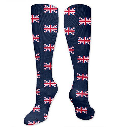 (Hd8yehao Unisex Adult Cotton Crew Socks UK Flag Union Jack Dress)