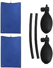 FAVOMOTO 2Pcs Air Wedge Alignment Tool Kit De Nivelamento Profissional Inflável Saco Cunha Barra de Alavanca p