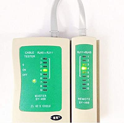 Lollipop RJ45 RJ11 RJ12 CAT5 CAT 6 Multi-functional UTP Network Lan Cable Tester Test Tool