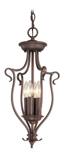 - Livex Lighting 6127-58 Pendant with No Shades, Imperial Bronze