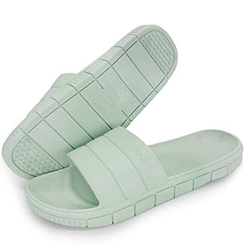 Grün Flip Flats Unisex Sandalen Herren Dusch Minetom Flache Slippers Flop Damen Sommer A Zehentrenner Rutschfest Badezimmer Badeschuhe Pantoffeln Damen TqBpxC4