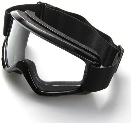 Dcolor Gafas Lente Lens contra Viento Proteccion para Moto Scooter Biker Negro