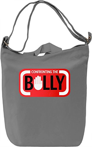 The Bully Borsa Giornaliera Canvas Canvas Day Bag| 100% Premium Cotton Canvas| DTG Printing|
