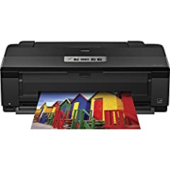 """Epson Artisan 1430 Wide Format, + 1-year product warranty Brilliant large-size photos - borderless photos up to 13"""" x 19"""" Ultra Hi-Definition prints - Claria 6-color ink for the ultimate in photo quality and longevity (prints last up to four ..."""