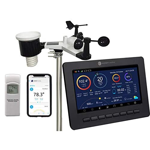 Image of Home and Kitchen Ambient Weather WS-2000 Smart Weather Station with WiFi Remote Monitoring and Alerts