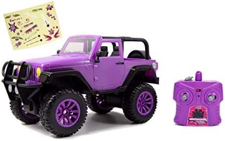 Dickie Toys 251106003 1:16 Jeep Wrangler RC SUV Girlmazing Ferngesteuertes