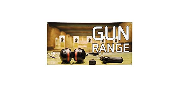 Vinyl Banner Multiple Sizes Guns /& Ammo B Outdoor Advertising Printing Military Outdoor Weatherproof Industrial Yard Signs 8 Grommets 48x96Inches