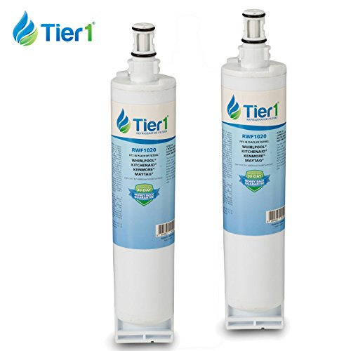 Whirlpool 4396508 EDR5RXD1 4396510 Filter 5 Comparable Refrigerator Water Filter 2 Pack