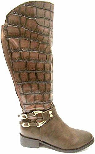 RTB marrón mujer Botas marrón para qq8176