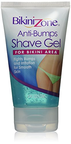 Bikini Zone Anti-Bumps Shave Gel 4 oz. (Bikini Zone Shaving Gel)