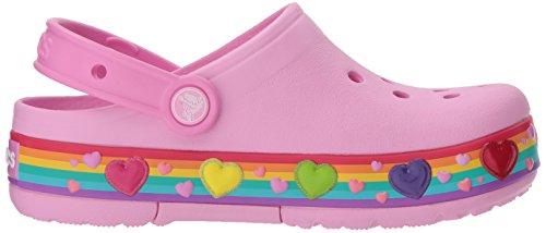 Large Product Image of Crocs Kids' Crocband Fun Lab Lights Rainbow Hearts Clog