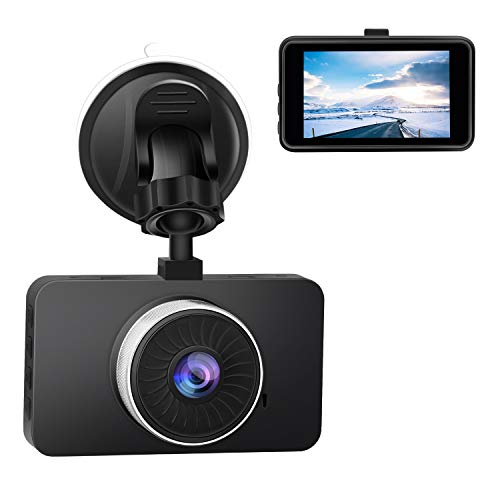 CHICOM 2.7′ Screen Car DVR FHD 1080P Dash Camera with Night Vision,Loop Recording,G-Sensor