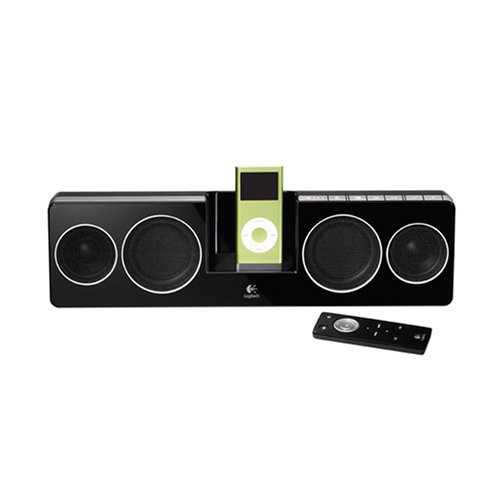 Logitech Pure-Fi Anywhere Compact Speakers for iPod (Black) by Jaybird (Image #1)