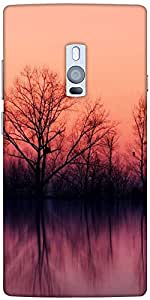 Snoogg Nature Wallpaper Designer Protective Back Case Cover For One Plus Two