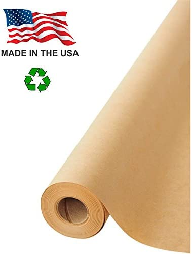 Packing Gift Wrapping Jumbo Packing Paper 12 x 1200 Inches for Craft Shipping 100 Feet Long Brown Kraft Paper Roll Kraft Paper Roll