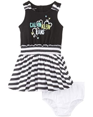 Baby Girls' Stripe Dress and Panty