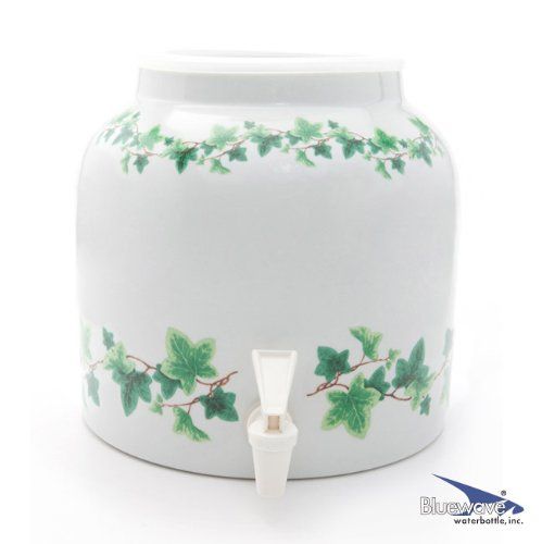 Bluewave Ivy Wrap Design Water Dispenser Crock