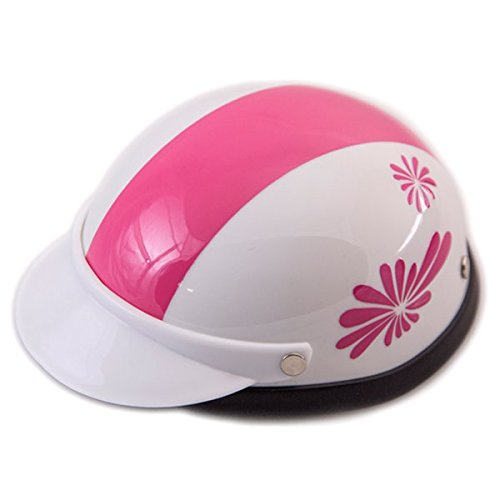 Helmet for Dogs, Cats and All Small Pets, Pet Accessory - Pink Fireworks-medium for dogs 13- 20 lbs. by Prima Dog