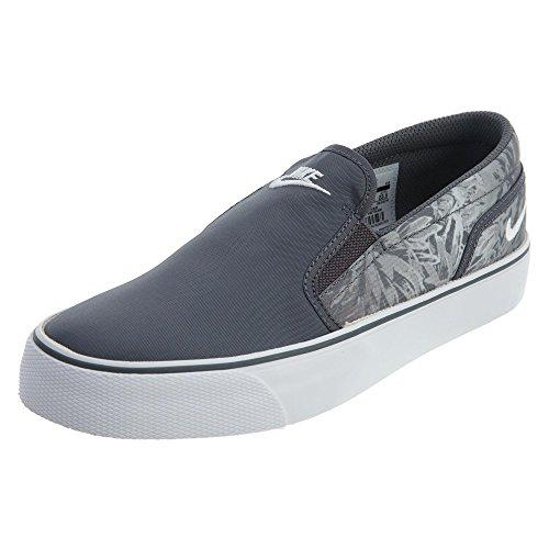 Slip Stampa Nike Toki Da Donna Grigio Scuro / Bianco / Grigio Lupo