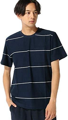 :梨地ボーダーTシャツ SS
