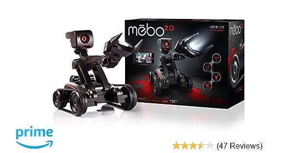 amazon com skyrocket mebo 2 0 interactive robot toys games
