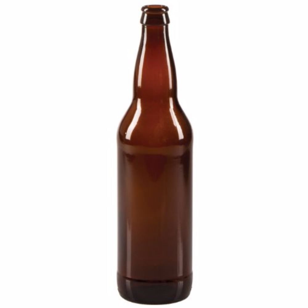 Midwest Homebrewing and Winemaking Supplies 22 oz Beer Bottles- Amber- Case of 12