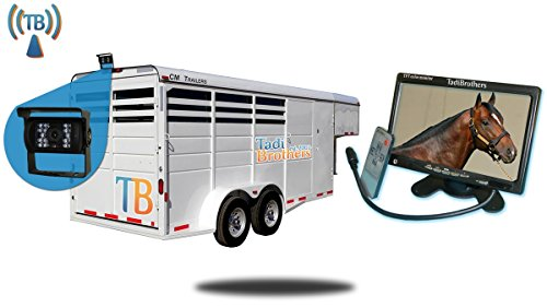 Tadibrothers 7 Inch Horse Trailer Monitor with Wireless Mounted Backup Camera Review