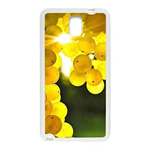 Fresh yellow grape nature style fashion phone For Case HTC One M8 Cover