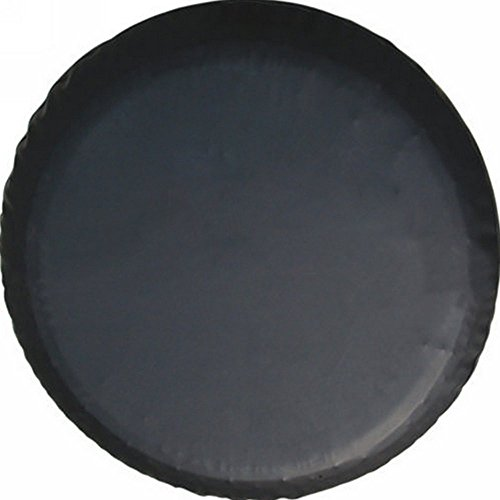 Aautohome Black Spare Tire Cover Universal Overdrive Fit For Jeep, Trailer, RV, SUV, Truck and Many Vehicle Wheel diameter 26.75inch - 29.75inch, Tire Protector