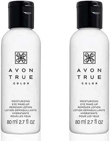 Avon Moisture Effective Eye Makeup Remover Lotion, 2 Ounce - LOT OF 2 - GREAT DEAL!