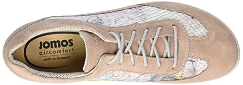 Jomos Ladies Allegra Scarpe Brogue Marrone (nouage)