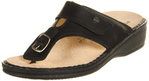 Finn Comfort Women's 2533-014099,Black Nappa Classic Footbed,39 EU/8.5-9 B US by Finn Comfort