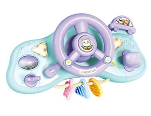 Tmrow 1pc Kids Steering Wheel with Lights, R.N.D, Music and Sound Educational Toy by Tmrow