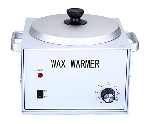 Depilatory Heater Wax Warmer Single Pot Fast Melt Professional Heater Hair Removal for All Waxs (Soft,Hard,Paraffin)