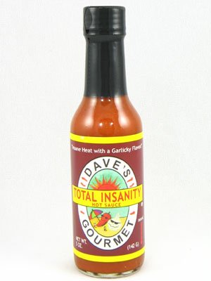 - Daves Gourmet Sauce Total Insanity