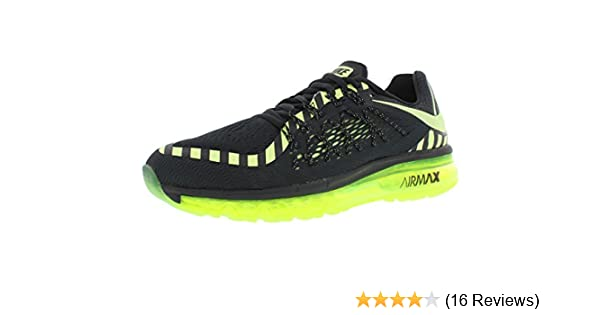 info for a444c e36ce Amazon.com   Nike Men s Air Max 2015 Anniversary Running Shoes,  Black Liquid Lime Dark Grey (8)   Road Running