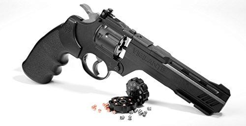 Crosman CCP8B2 Vigilante CO2 .177-Caliber Pellet and FFP BB Revolver