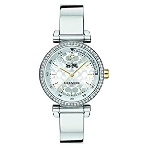 Coach Women's Silver Dial Stainless Steel Band Watch - 14502544