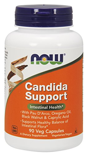 NOW Candida Support Capsules Pack product image