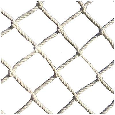 BOC Malla de protección para niños, escalera de cuerda, seguridad para niños, balcón, decoración de jardín, rejas de malla de nylon, barandas, escaleras, patio de juegos, decoración para niños, cerca: Amazon.es: Bricolaje