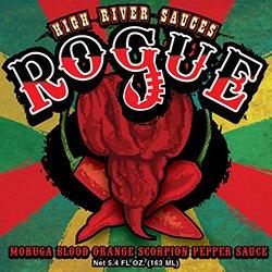 Rogue Moruga Blood Orange Scorpion Pepper Sauce - 5.4 fl/oz. (Orange Sweet Hot Sauce)