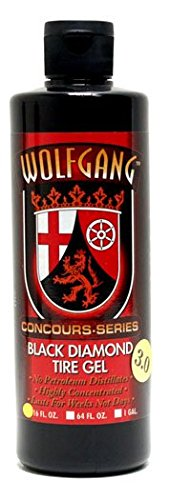 Wolfgang Concours Series WG-4700 Black Diamond Tire Gel, 16 fl. - Black Diamond Tire
