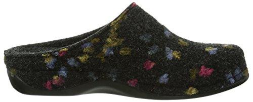 Grau Tupfen Berkemann 914 Donata Pantoufles Femme Multicolore wqvRIXAv