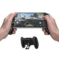 GameSir F1 Mobile PUBG Joystick Controller Grip Case for Smartphones, Mobile Phone Gaming Grip with Joystick, Controller Holder Stand Joypad with Ergonomic Design