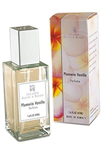Hawaii Island Bath & Body Perfume 1.6 fl. oz. Plumeria Vanilla