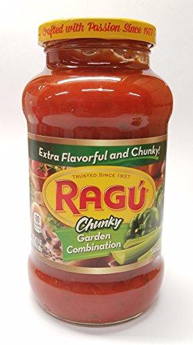 Ragu Chunky Garden Combination Pasta Sauce 24 oz