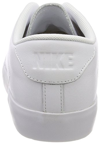 Uomo Bianco Basse Scarpe Nike Low 2 Court black All Da Ginnastica Leather white white xqxBfzH