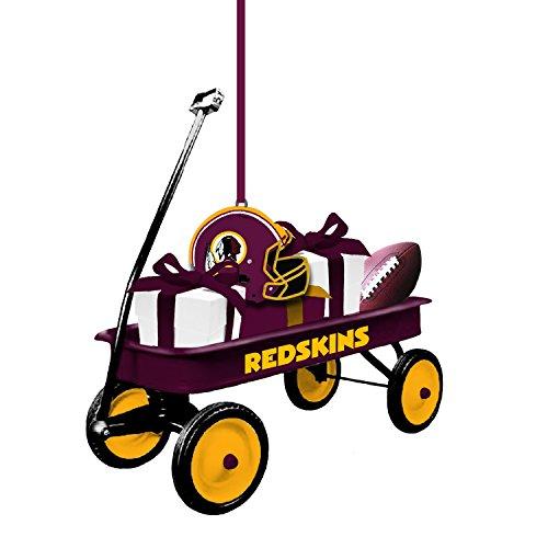 (Team Sports America 3OT3831WGN Washington Redskins Team Wagon Ornament)