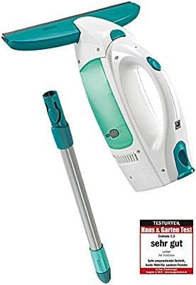 Leifheit Dry&Clean Aspirador Limpiacristales, Palo, Compuesto, Blanco y Azul, 23x10x47.5 cm: Amazon.es: Bricolaje y herramientas